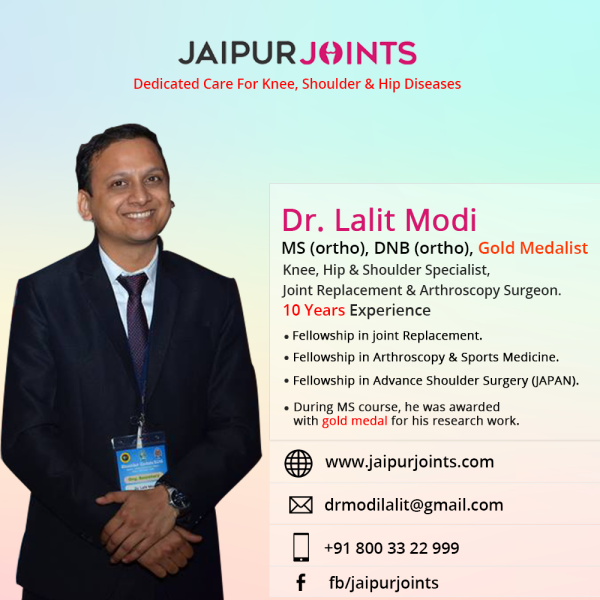 Best orthopedic doctor in Jaipur at jaipurjoints | Health