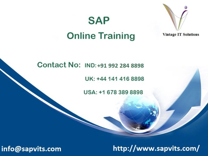 SAP online Course in Bangalore | Distance Learning | Karnataka | India