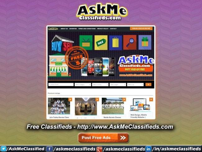 Free Classified Ads Service in India | Others | Delhi | India